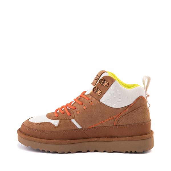 alternate view Womens UGG® Highland Hi Heritage Sneaker - ChestnutALT1