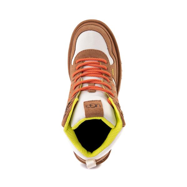 alternate view Womens UGG® Highland Hi Heritage Sneaker - ChestnutALT2