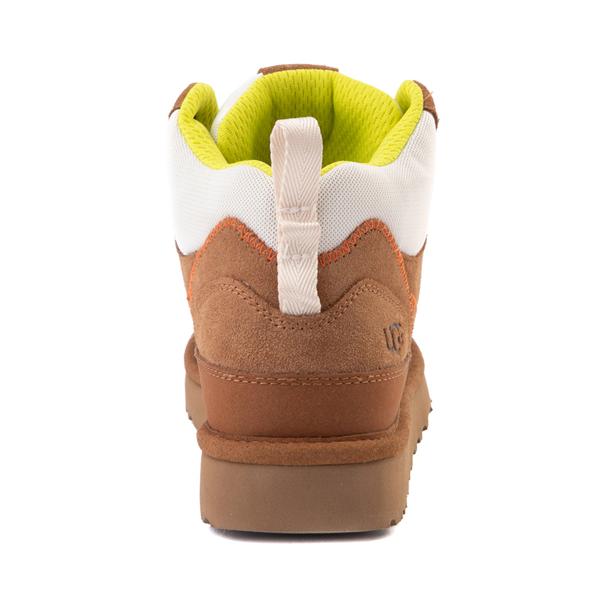 alternate view Womens UGG® Highland Hi Heritage Sneaker - ChestnutALT4
