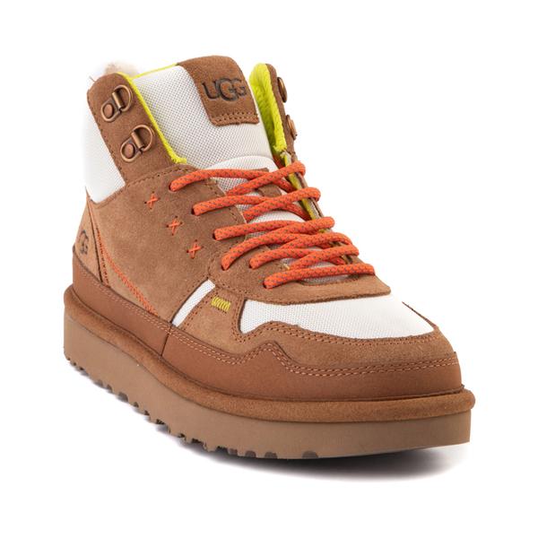 alternate view Womens UGG® Highland Hi Heritage Sneaker - ChestnutALT5