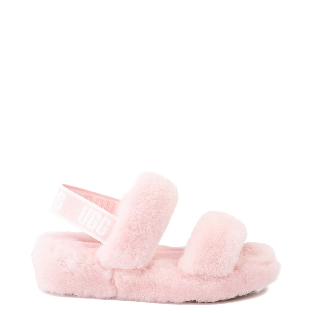 Womens UGG® Oh Yeah Slide Sandal - Pink Cloud