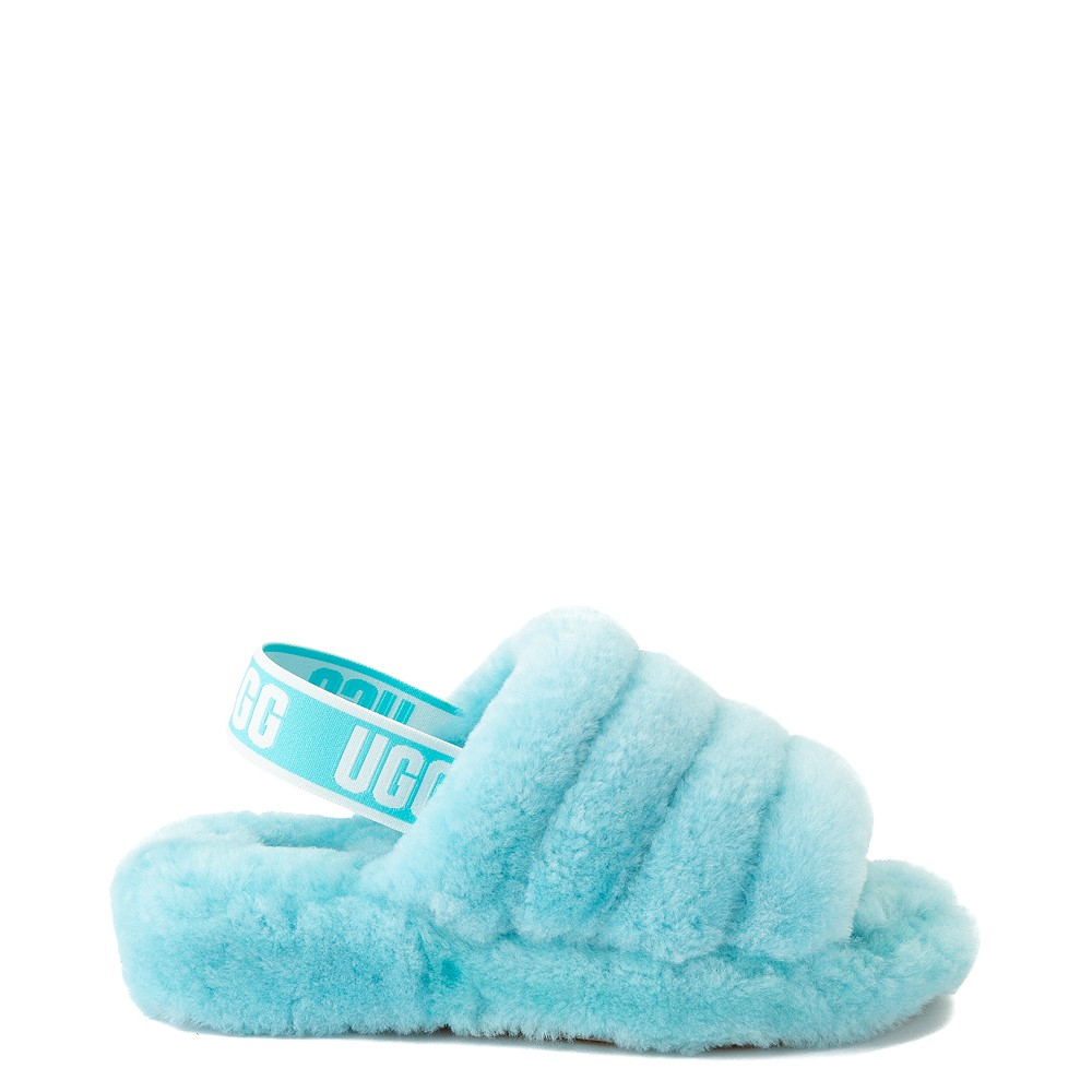 Womens UGG® Fluff Yeah Slide Sandal - Clear Water
