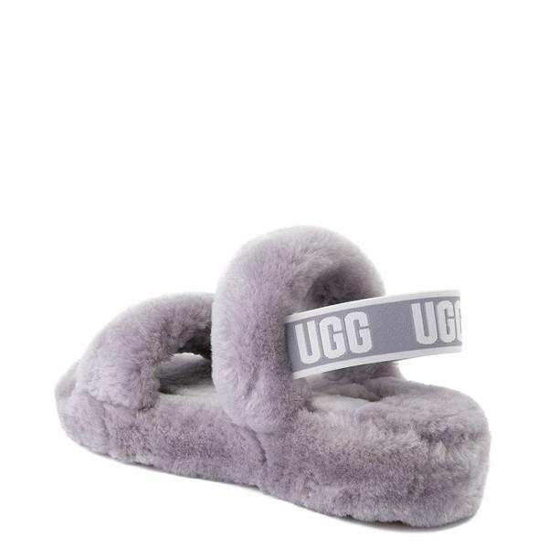 alternate view Womens UGG® Oh Yeah Slide Sandal - Soft AmethystALT1
