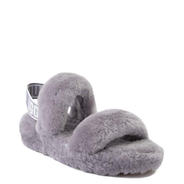 alternate view Womens UGG® Oh Yeah Slide Sandal - Soft AmethystALT5