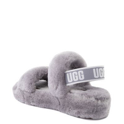 Alternate view of Womens UGG® Oh Yeah Slide Sandal - Soft Amethyst