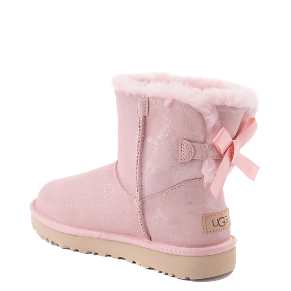 alternate view Womens UGG® Bailey Bow II Boot - Pink CloudALT2