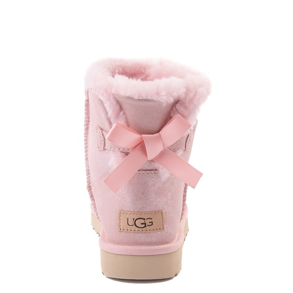 alternate view Womens UGG® Bailey Bow II Boot - Pink CloudALT2B