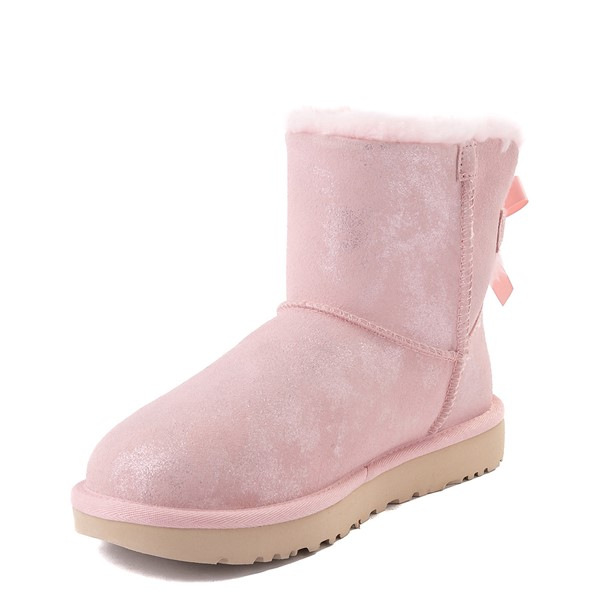 alternate view Womens UGG® Bailey Bow II Boot - Pink CloudALT3