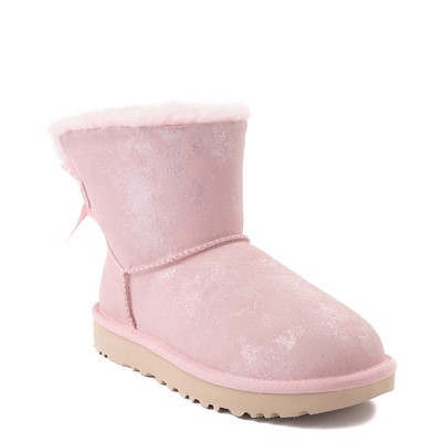 Alternate view of Womens UGG® Bailey Bow II Boot - Pink Cloud