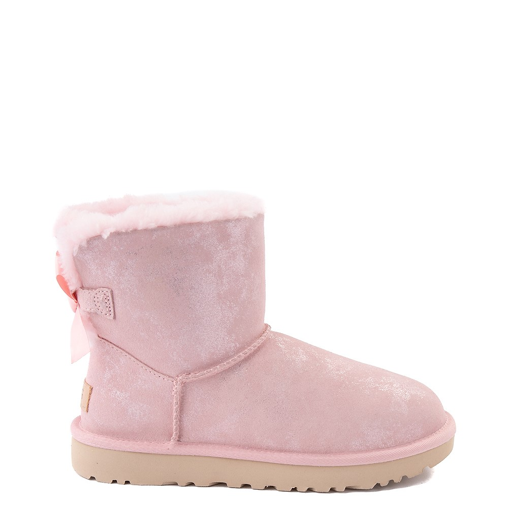 Womens UGG® Bailey Bow II Boot - Pink Cloud