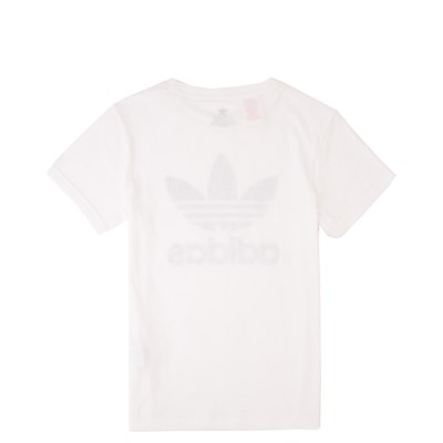 Alternate view of adidas Trefoil Tee - Little Kid / Big Kid - White
