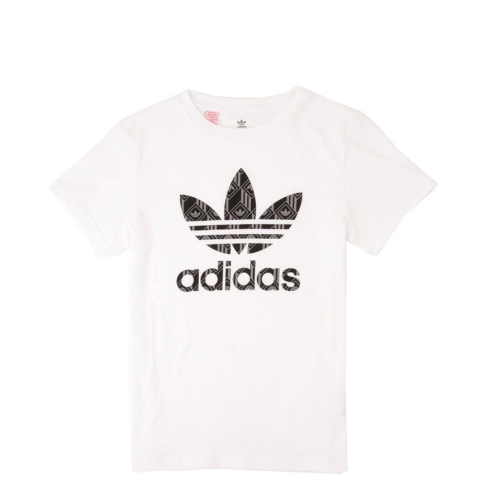 adidas Trefoil Tee - Little Kid / Big Kid - White