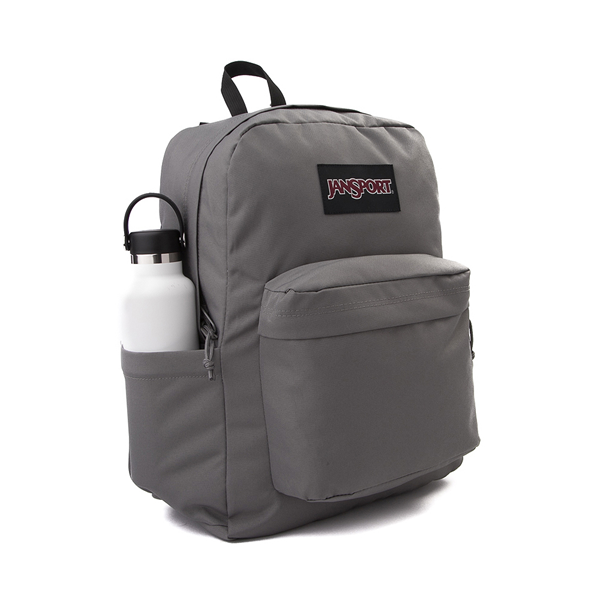 alternate view JanSport Superbreak Plus Backpack - GraphiteALT4
