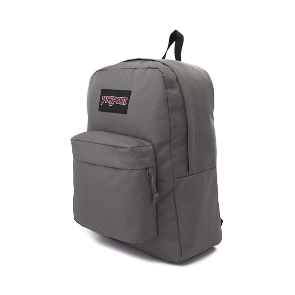 alternate view JanSport Superbreak Plus Backpack - GraphiteALT4B