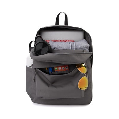 Alternate view of JanSport Superbreak Plus Backpack - Graphite