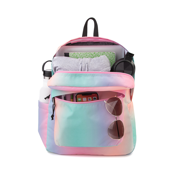 alternate view JanSport Superbreak Plus Backpack - Pastel OmbreALT1
