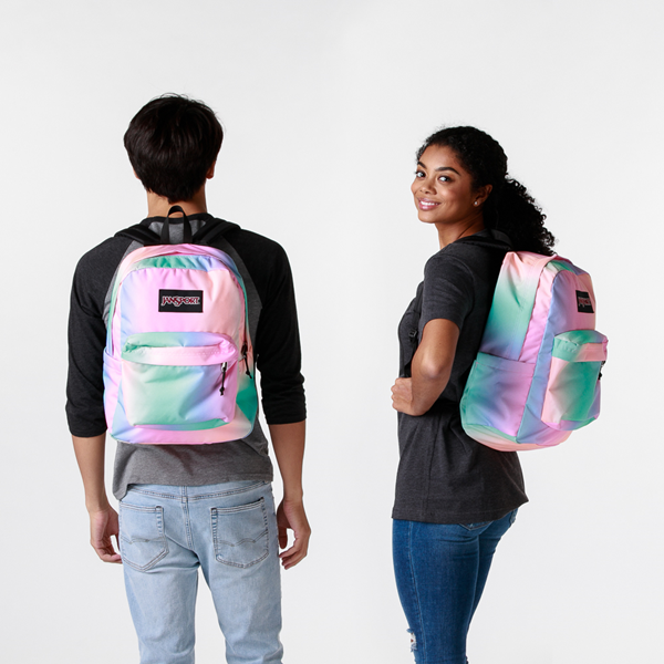 alternate view JanSport Superbreak Plus Backpack - Pastel OmbreALT1BADULT