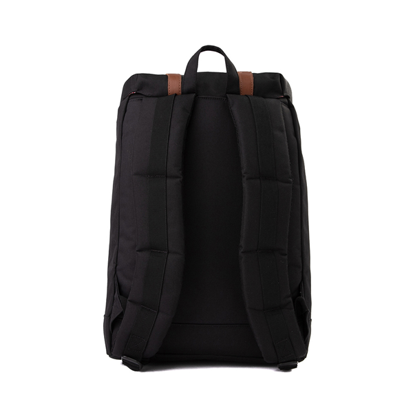 alternate view Herschel Supply Co. Retreat Backpack - Black / Saddle BrownALT2