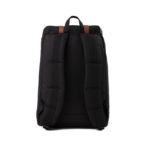 alternate view Herschel Supply Co. Retreat Backpack - Black / Saddle BrownALT2