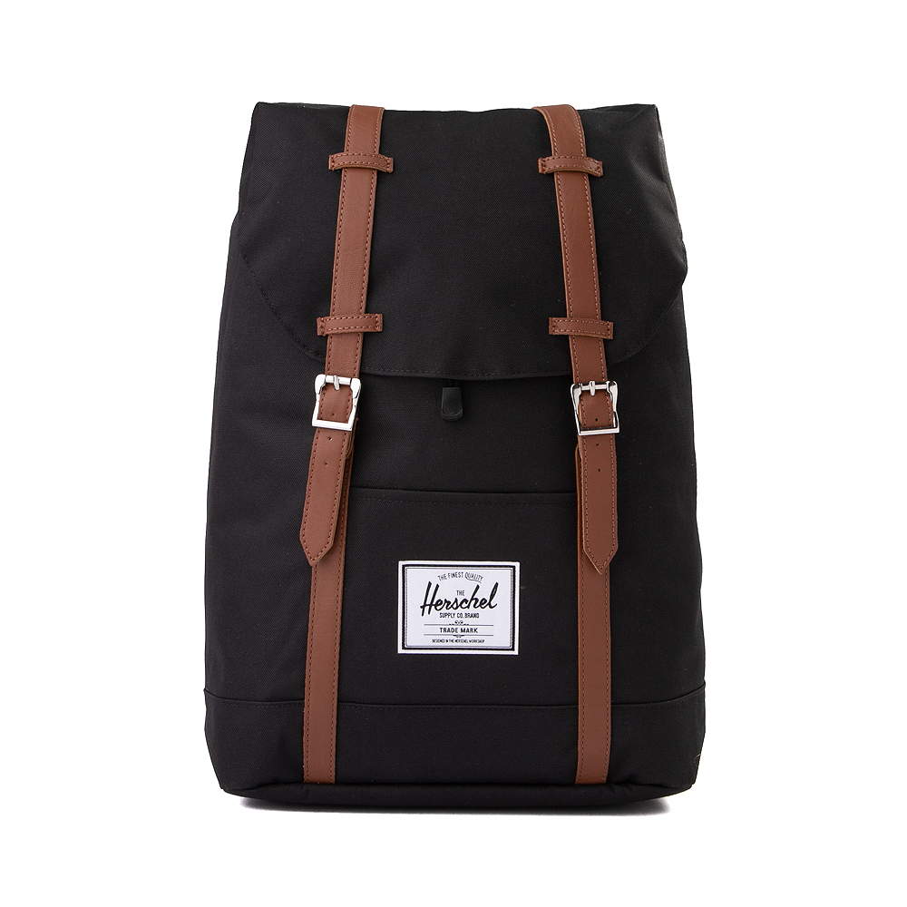 Herschel Supply Co. Retreat Backpack - Black / Saddle Brown