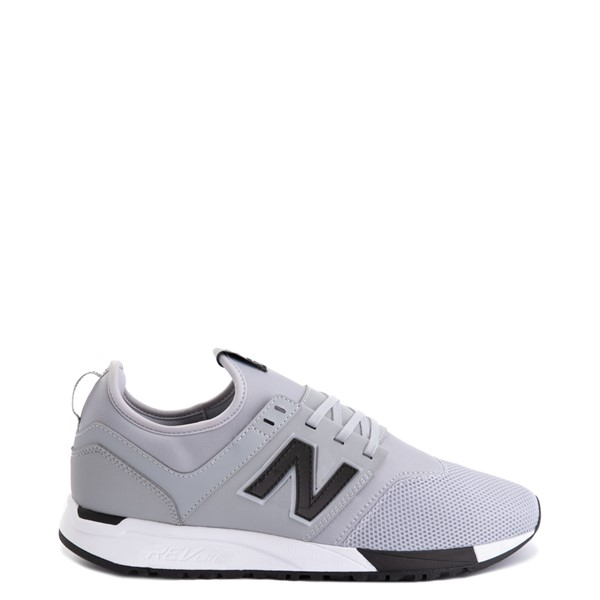 Mens New Balance 247 Athletic Shoe - Gray / Black
