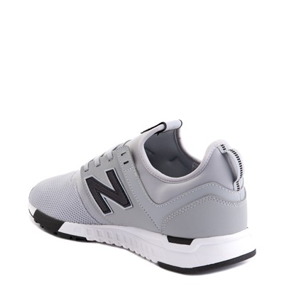 Alternate view of Mens New Balance 247 Athletic Shoe - Gray / Black