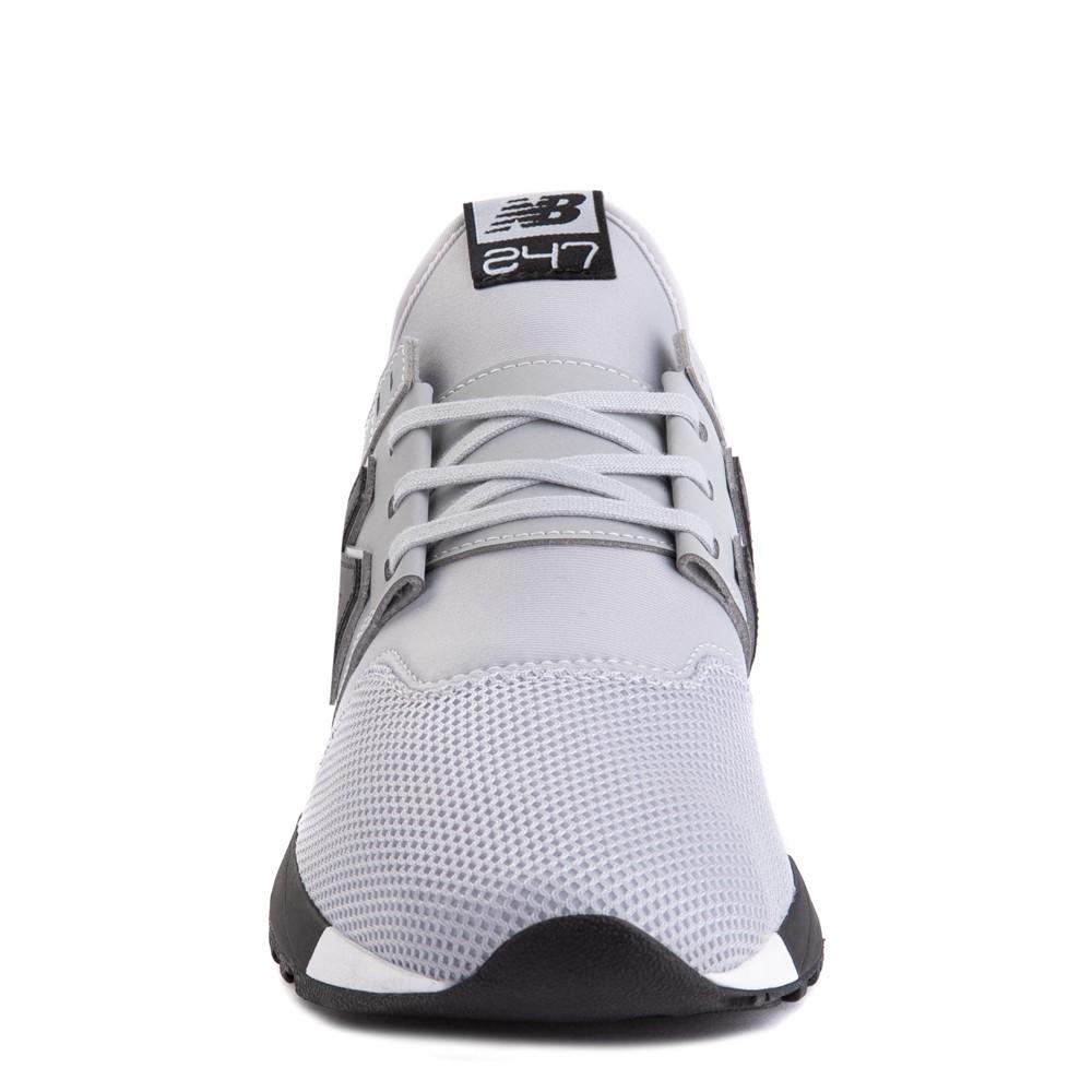 Mens New Balance 247 Athletic Shoe - Gray / Black | Journeys