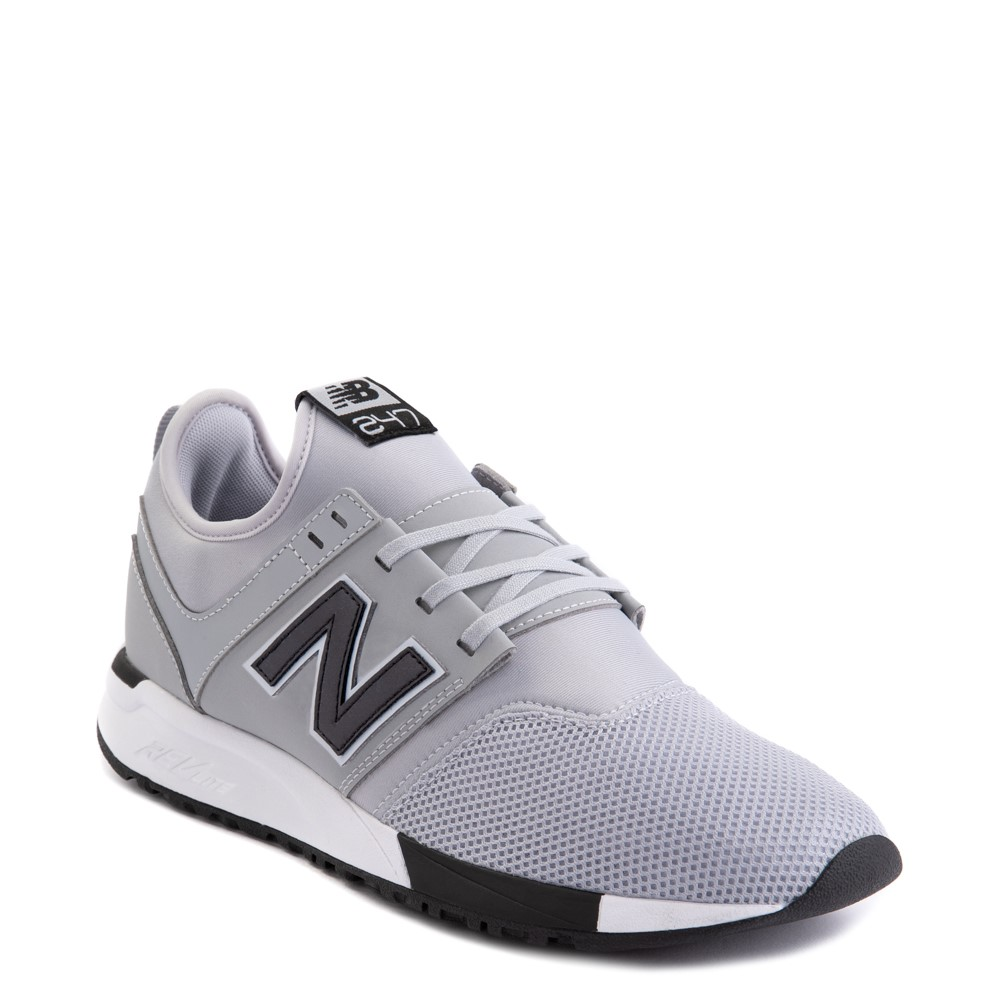Mens New Balance 247 Athletic Shoe - Gray / Black