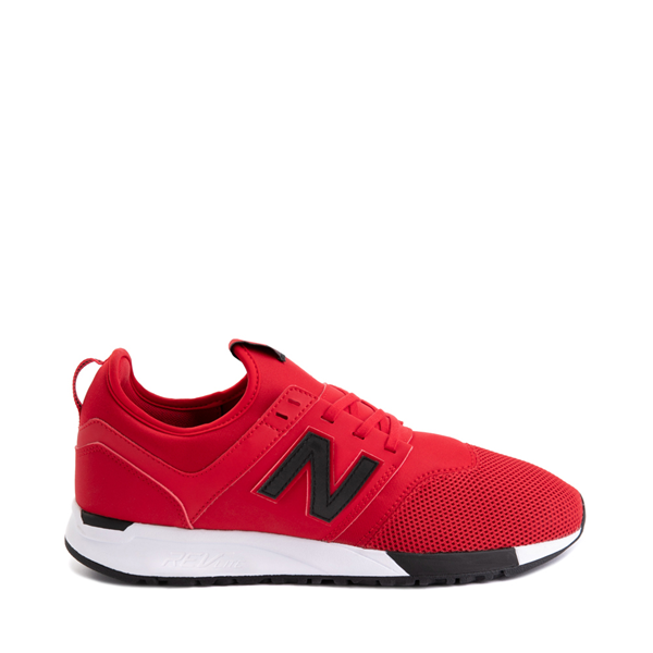 Main view of Mens New Balance 247 Athletic Shoe - Red / Black