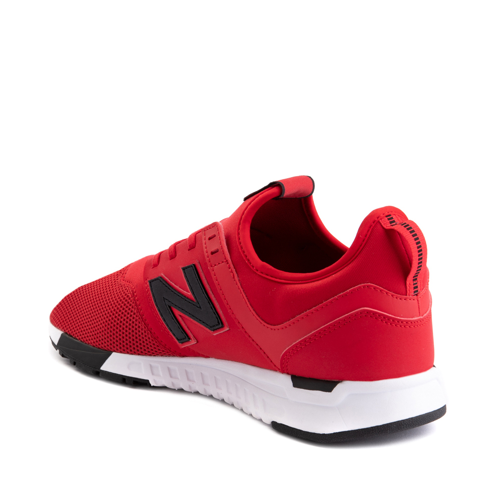 Mens New Balance 247 Athletic Shoe - Red / Black