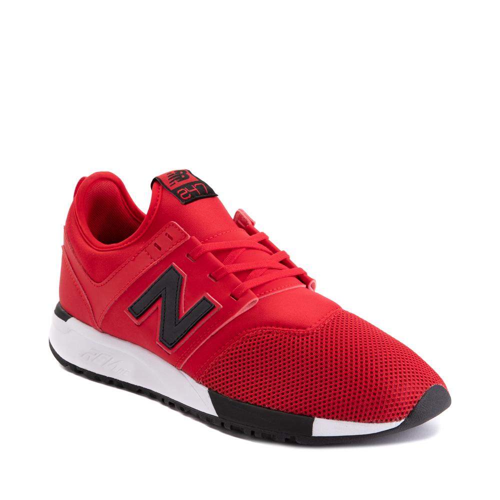 Mens New Balance 247 Athletic Shoe - Red / Black | Journeys