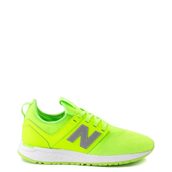 Womens New Balance 247 Athletic Shoe - Lime