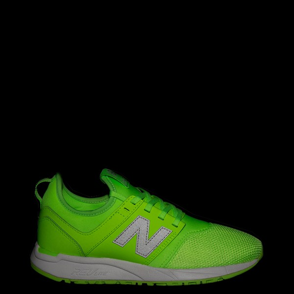 alternate view Womens New Balance 247 Athletic Shoe - LimeALT1