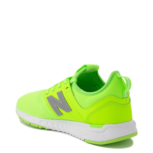alternate view Womens New Balance 247 Athletic Shoe - LimeALT1B