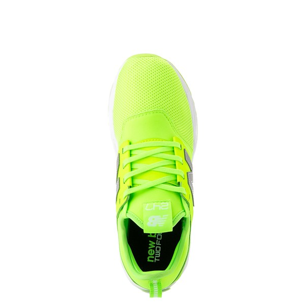 alternate view Womens New Balance 247 Athletic Shoe - LimeALT2