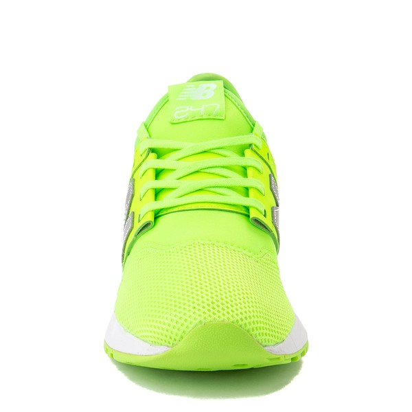 alternate view Womens New Balance 247 Athletic Shoe - LimeALT4