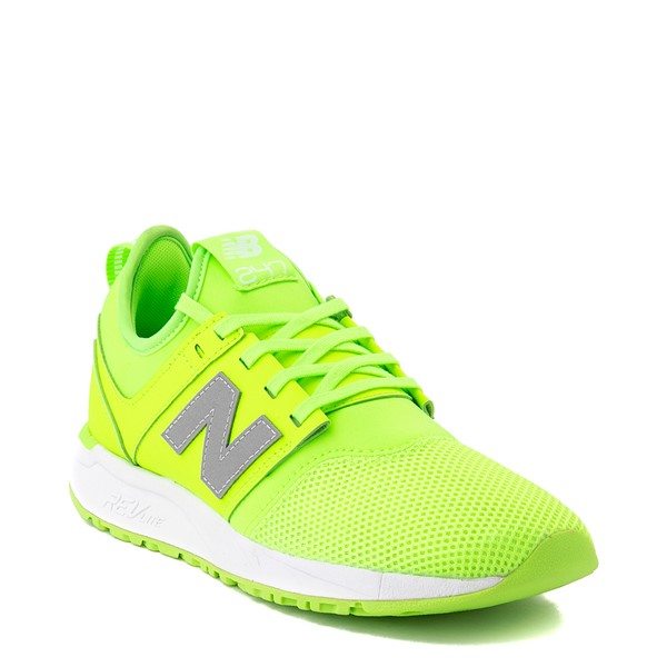 alternate view Womens New Balance 247 Athletic Shoe - LimeALT5