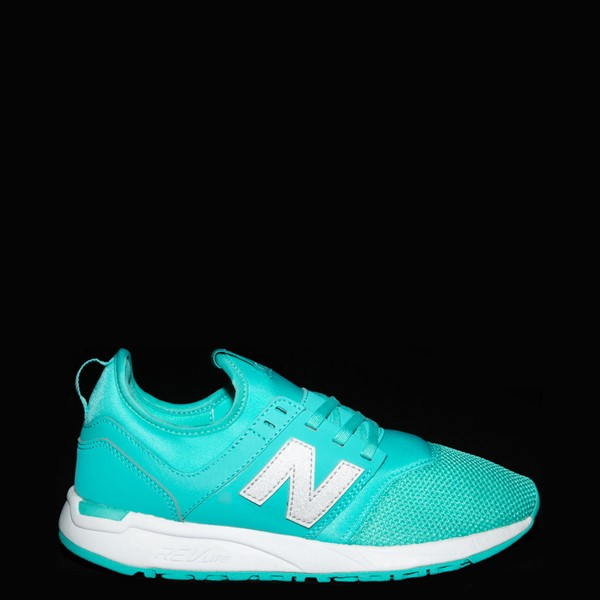 alternate view Womens New Balance 247 Athletic Shoe - TurquoiseALT1
