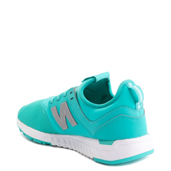alternate view Womens New Balance 247 Athletic Shoe - TurquoiseALT1B
