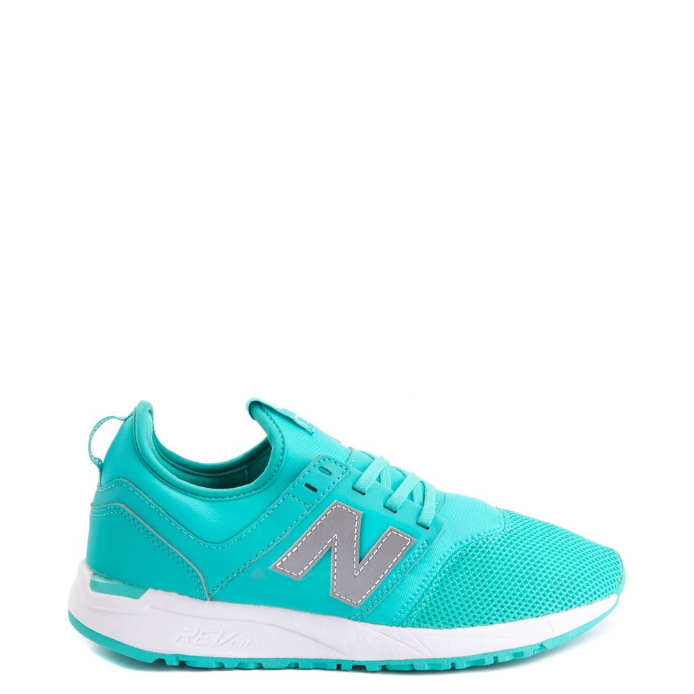 Womens New Balance 247 Athletic Shoe - Turquoise