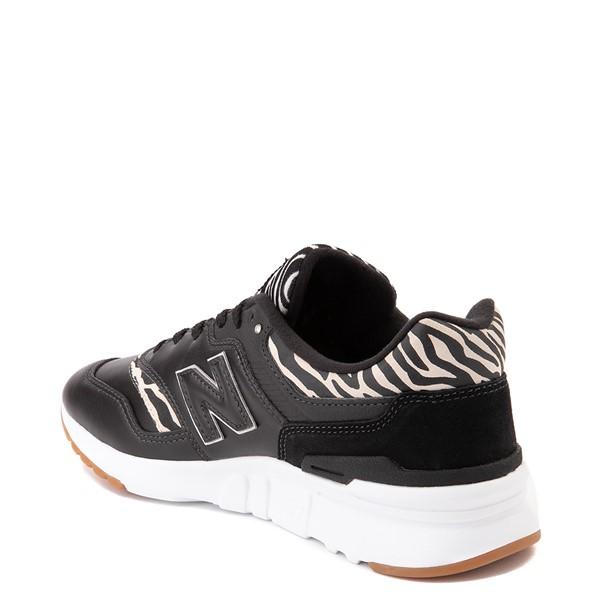 alternate view Womens New Balance 997H Athletic Shoe - Black / ZebraALT1