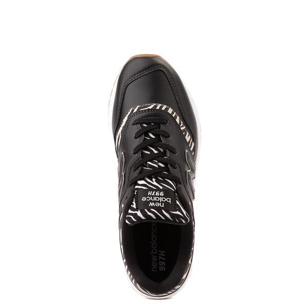 alternate view Womens New Balance 997H Athletic Shoe - Black / ZebraALT2
