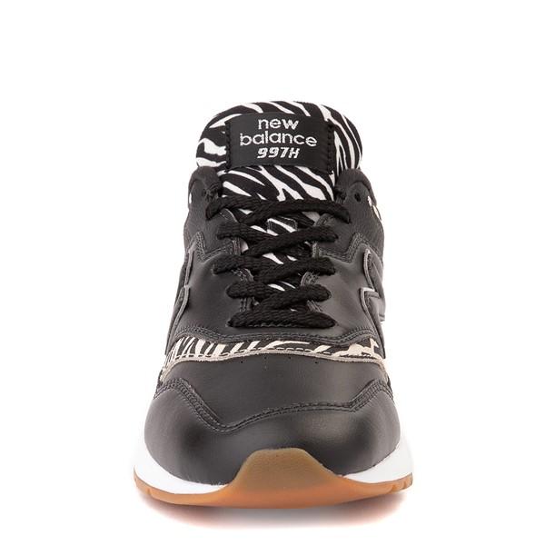alternate view Womens New Balance 997H Athletic Shoe - Black / ZebraALT4