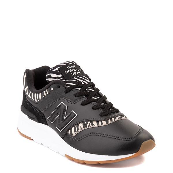 alternate view Womens New Balance 997H Athletic Shoe - Black / ZebraALT5