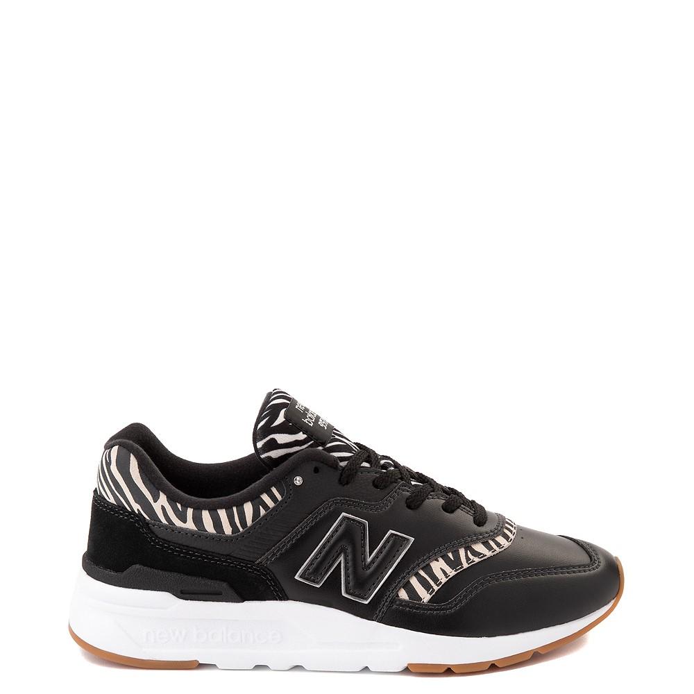 Womens New Balance 997H Athletic Shoe - Black / Zebra