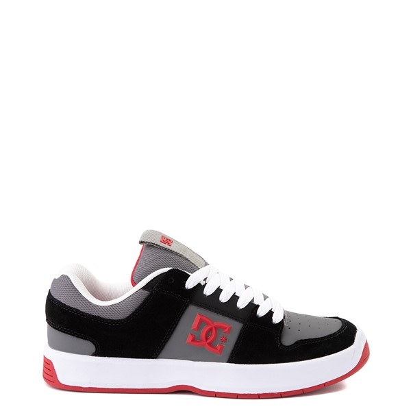 Mens DC Lynx Zero Skate Shoe - Black / Gray / Red
