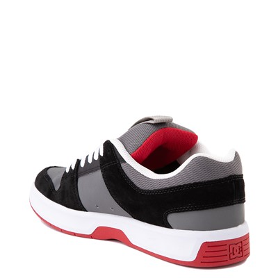 Alternate view of Mens DC Lynx Zero Skate Shoe - Black / Gray / Red