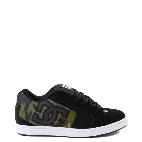 Mens DC Net SE Skate Shoe - Black / Camo