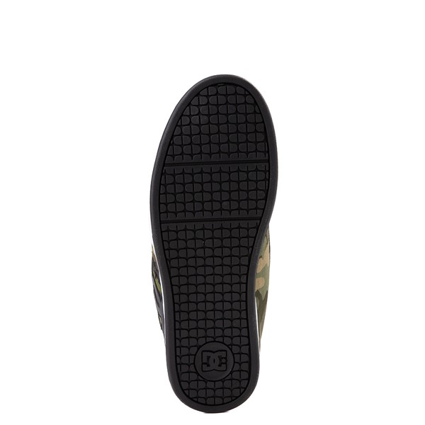 alternate view Mens DC Net SE Skate Shoe - Black / CamoALT3