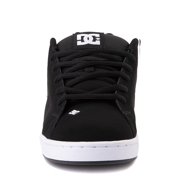 alternate view Mens DC Net SE Skate Shoe - Black / CamoALT4